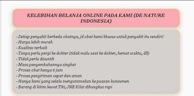 obat asam urat de nature indonesia